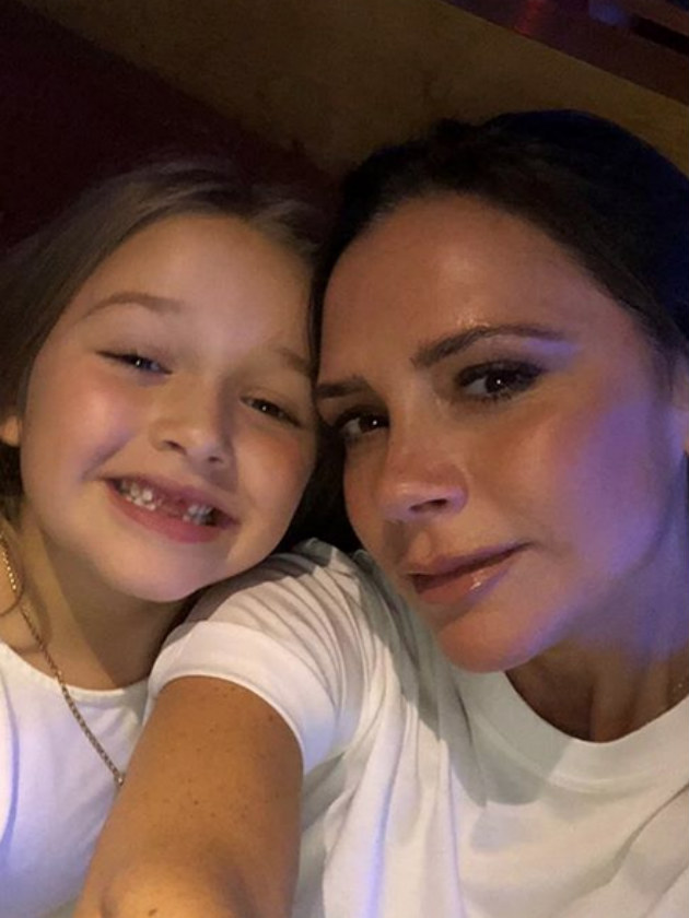 Victoria Beckham And Harper React As They Find A Massive