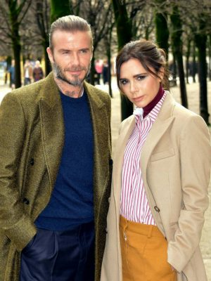 Victoria Beckham shares heartwarming photo of David cuddling Harper – but fans are distracted by THIS