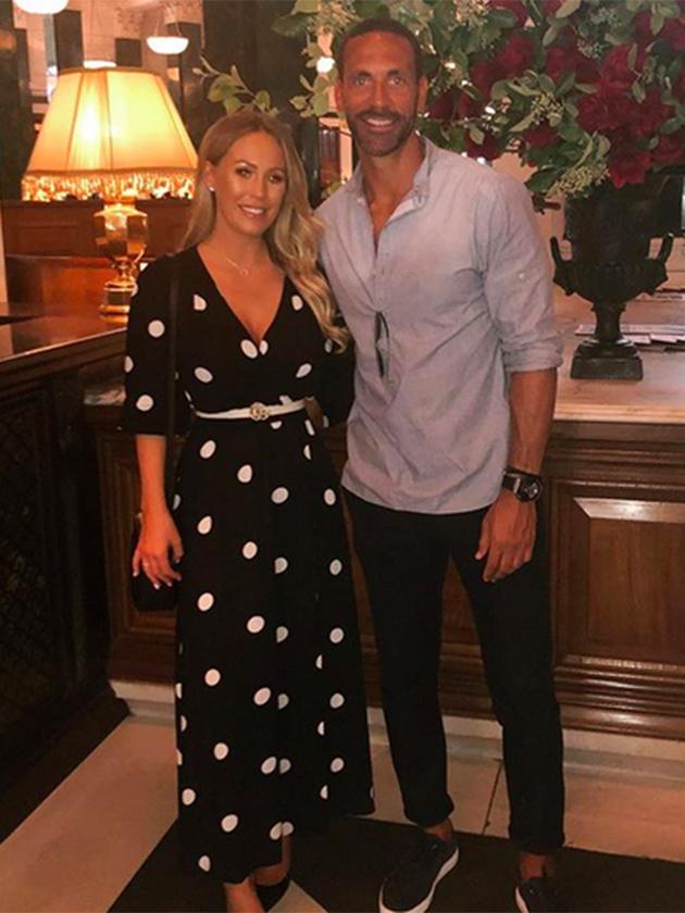 Welcome To Ladun Liadis Blog: Rio Ferdinand & Kate Wright