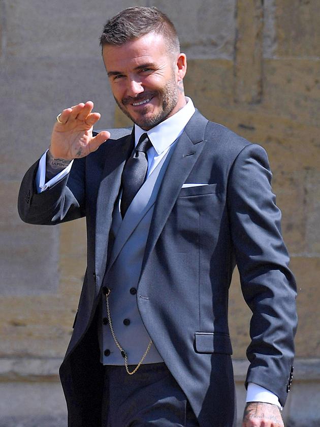 Royal Wedding 2018 Did You Spot David Beckham S Reaction