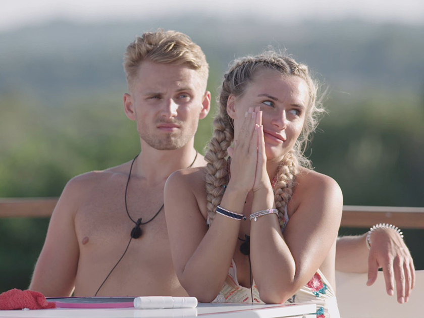 Love Island Charlie and Ellie