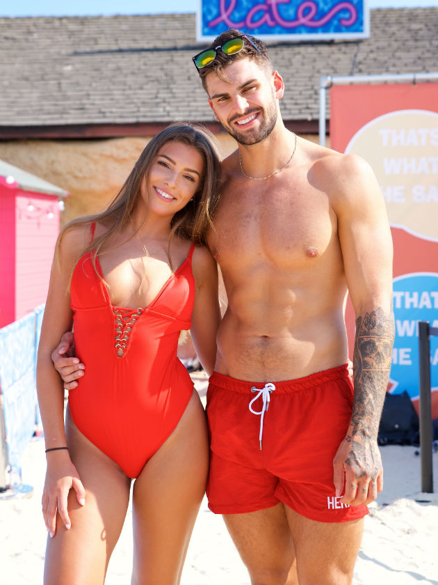 Love Island 2018 Adam And Zara Exclusively Reveal Her First Tattoo