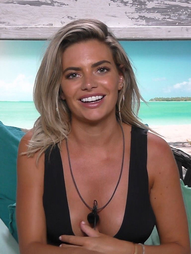 Love Island 2018 Megan Sends Fans Into Meltdown With Boob