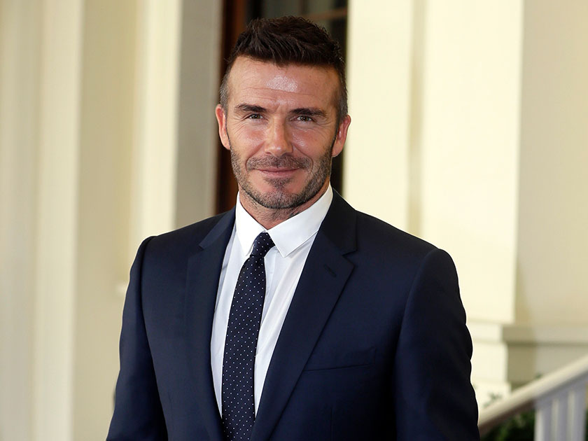 WATCH: David Beckham surprises 'amazing' 11-year-old fan in hospital for Pride Of Britain Awards