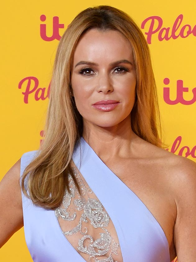 Amanda Holden Flashes Major Side Boob As She Ditches Bra At
