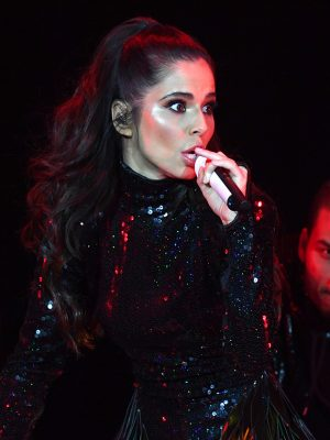 Cheryl on stage at Hits Radio Live