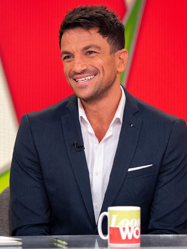 Peter Andre speaks out on hair transplants after David