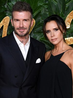 Victoria Beckham shares adorable family photo of husband David – but fans are distracted by THIS