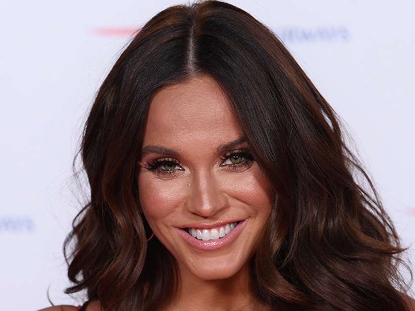 Vicky Pattison jokes she's 'shy' as she poses on all fours in sexy underwear snap
