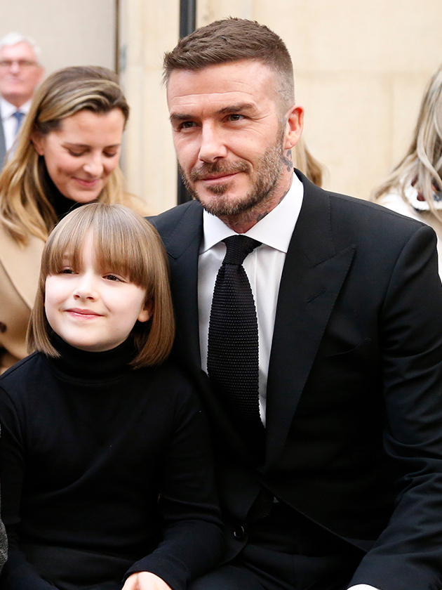 Harper Beckham Twinning With This Fashion Icon At Victoria