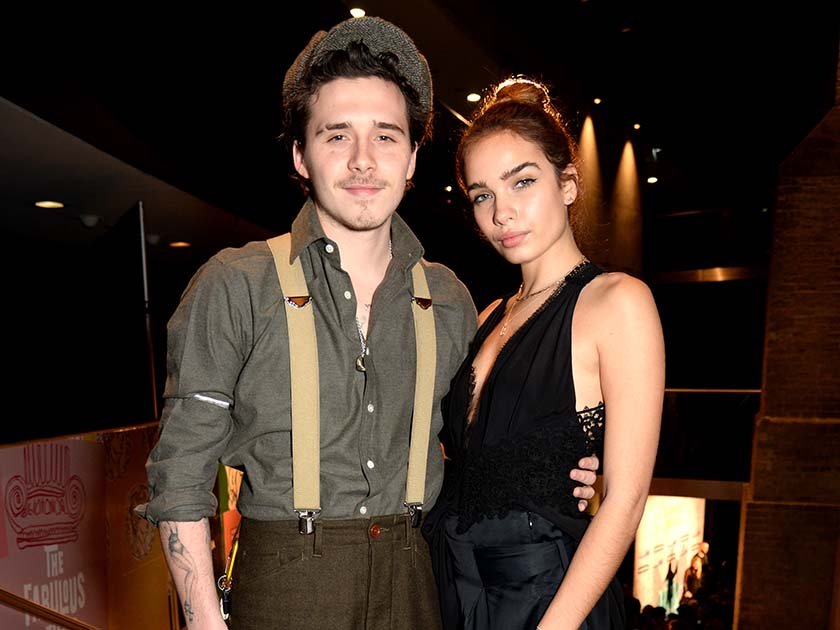 Brooklyn Beckham and Hana Cross