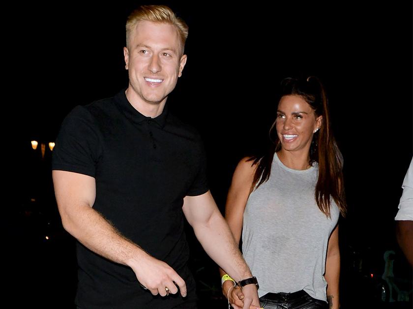 Katie Price和Kris Boyson