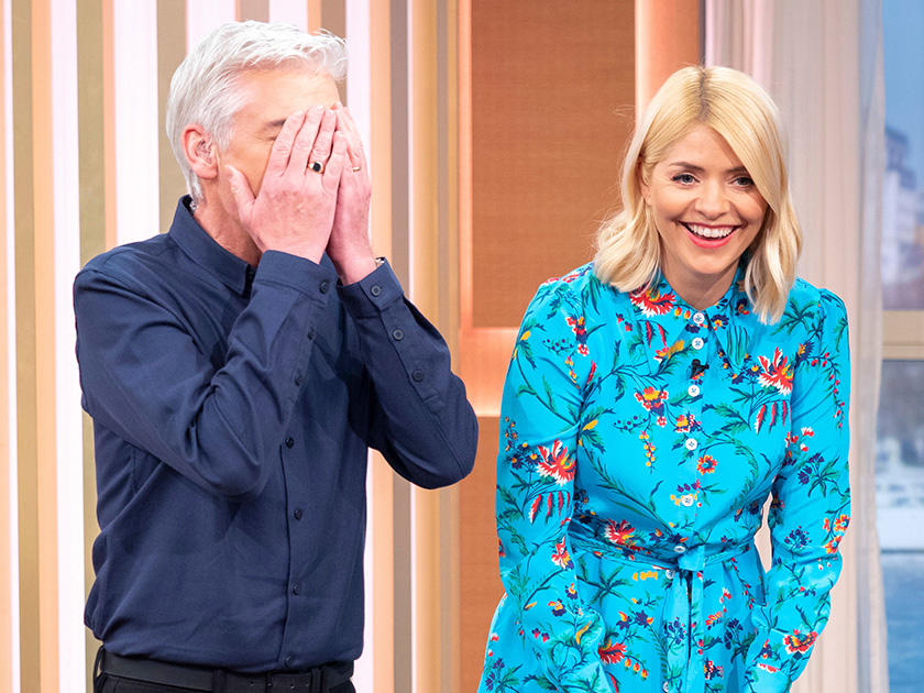 This Morning's Holly Willoughby left red faced after VERY awkward slip up during discussion about porn