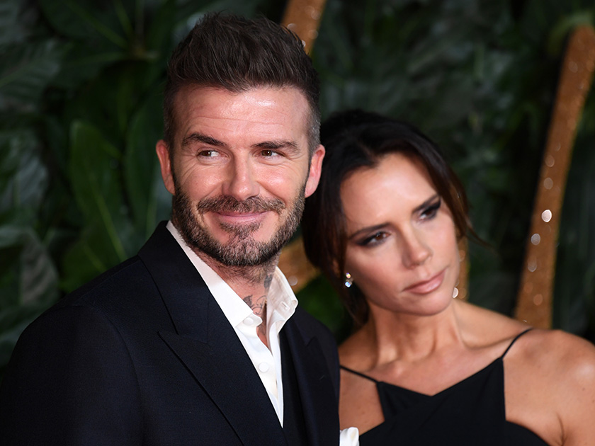 Victoria Beckham is unrecognisable in make-up free snap as David pokes fun at her with hilarious birthday post