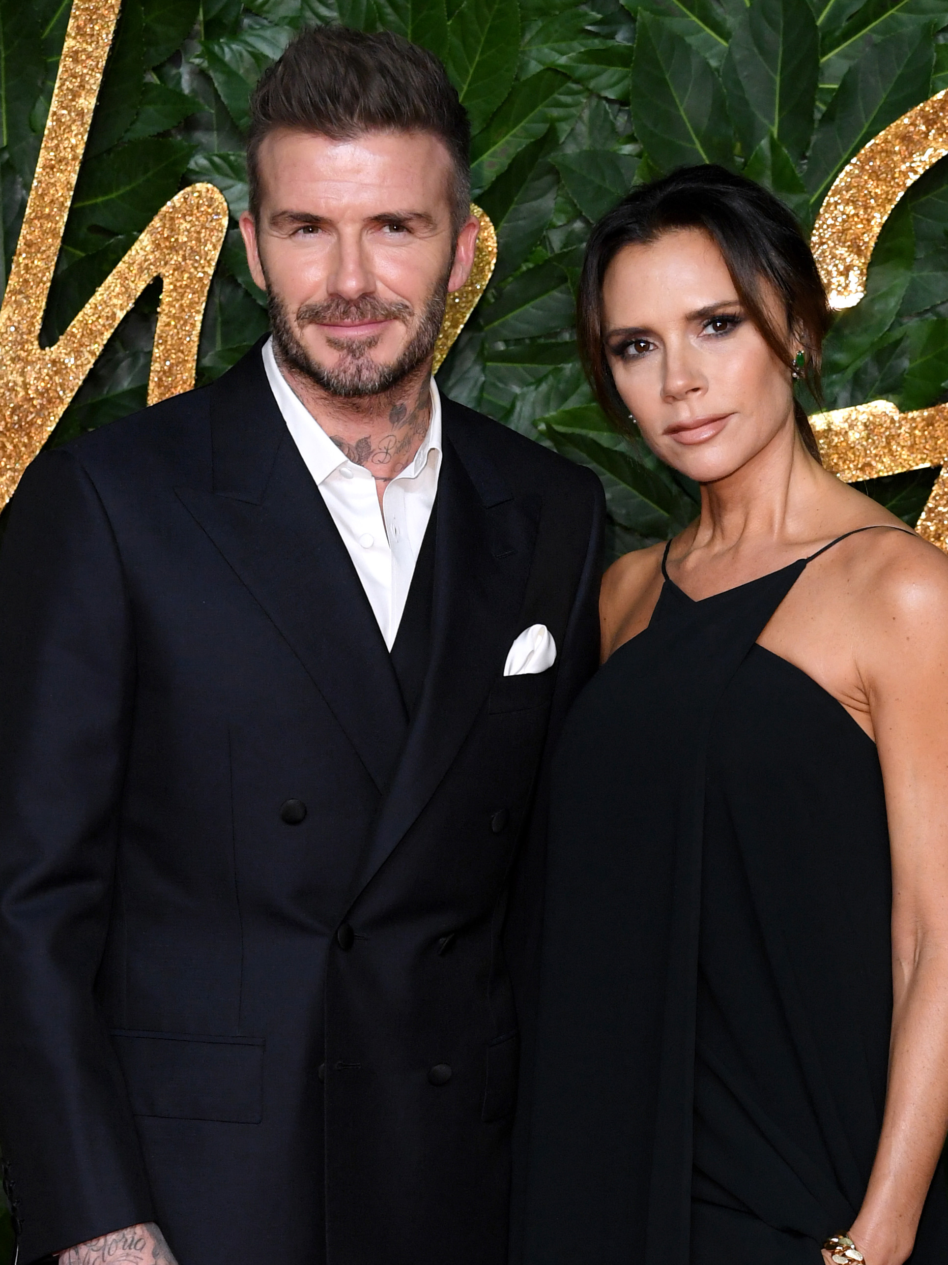 Victoria Beckham bumps into pal Derek Blasberg in Paris after she reveals 'super chic' surprise gift from David