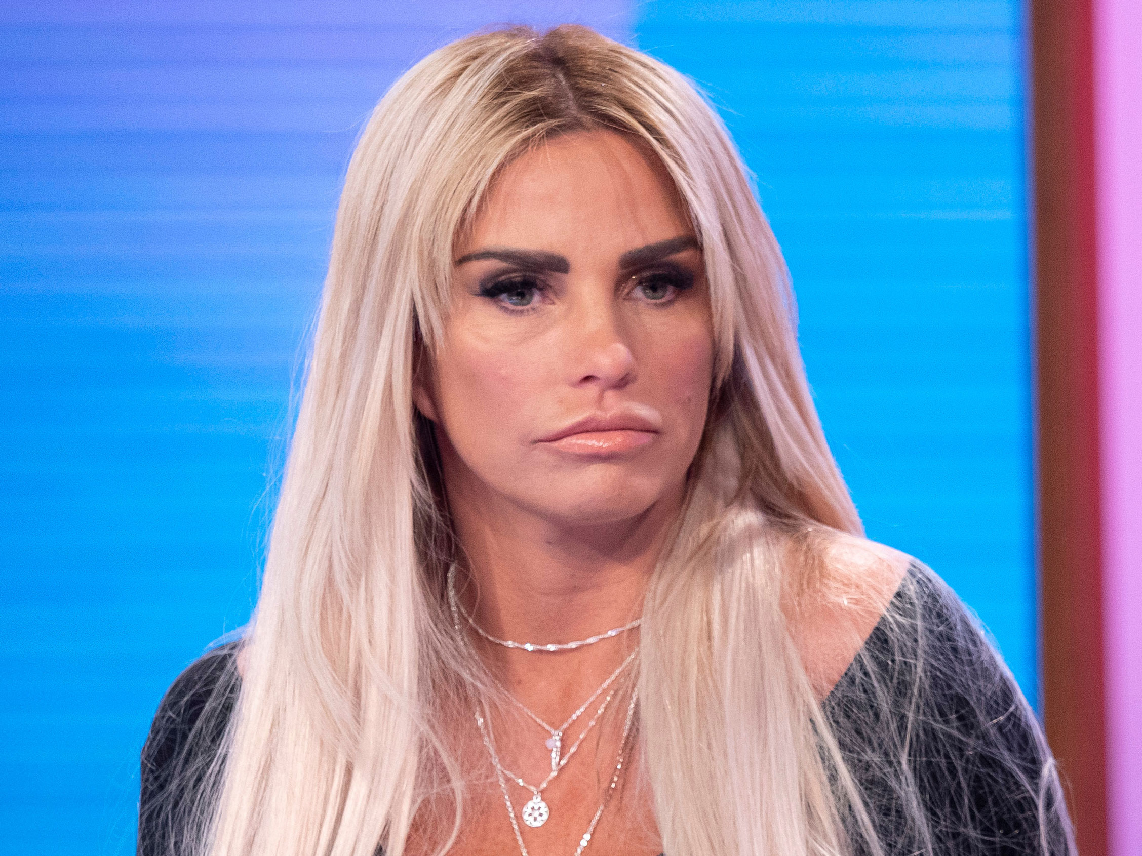 Katie Price Left Fearing Her Ears Could Fall Off After Infected Facelift