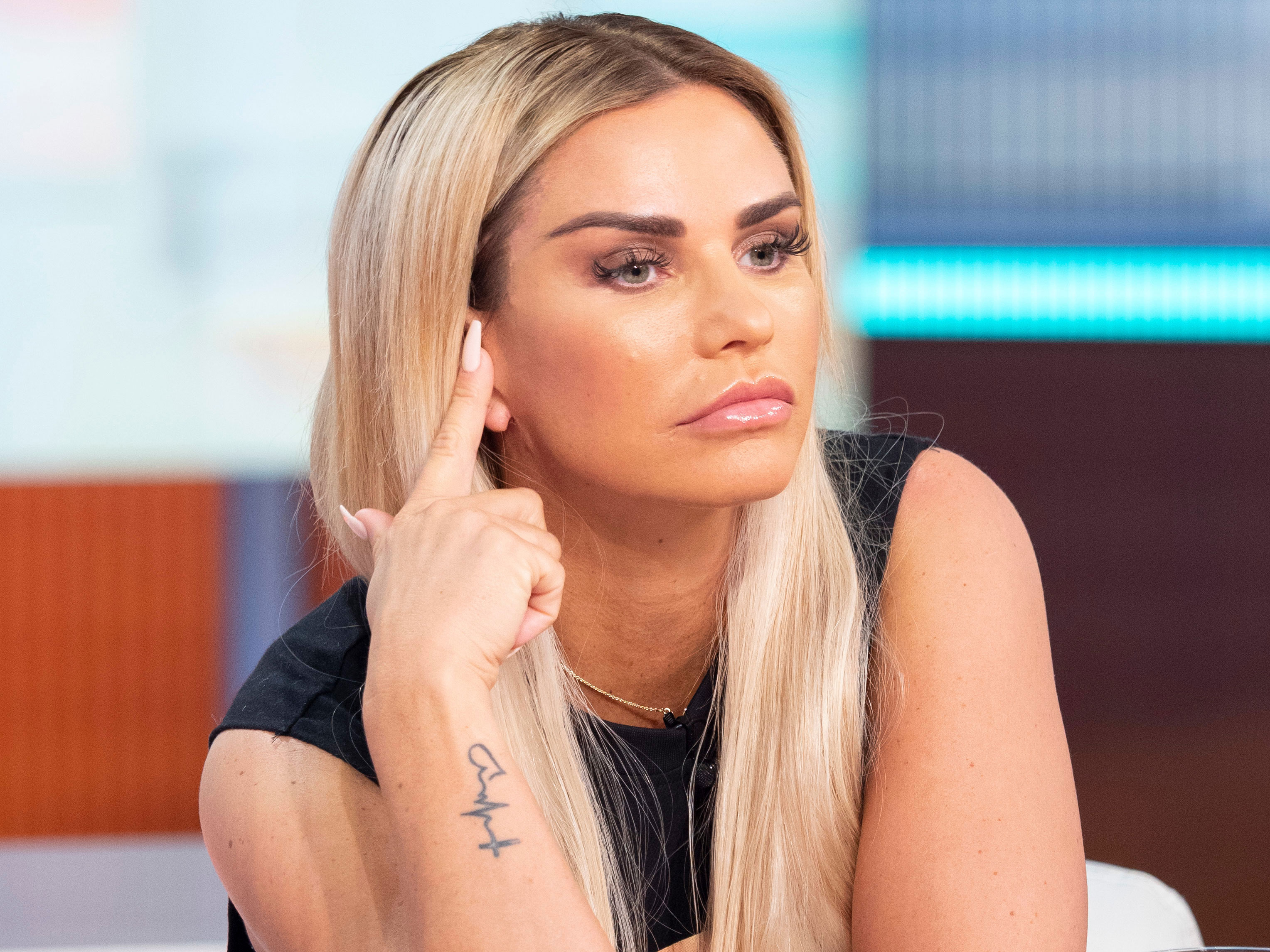 Katie Price reveals she had her own fat injected into her face
