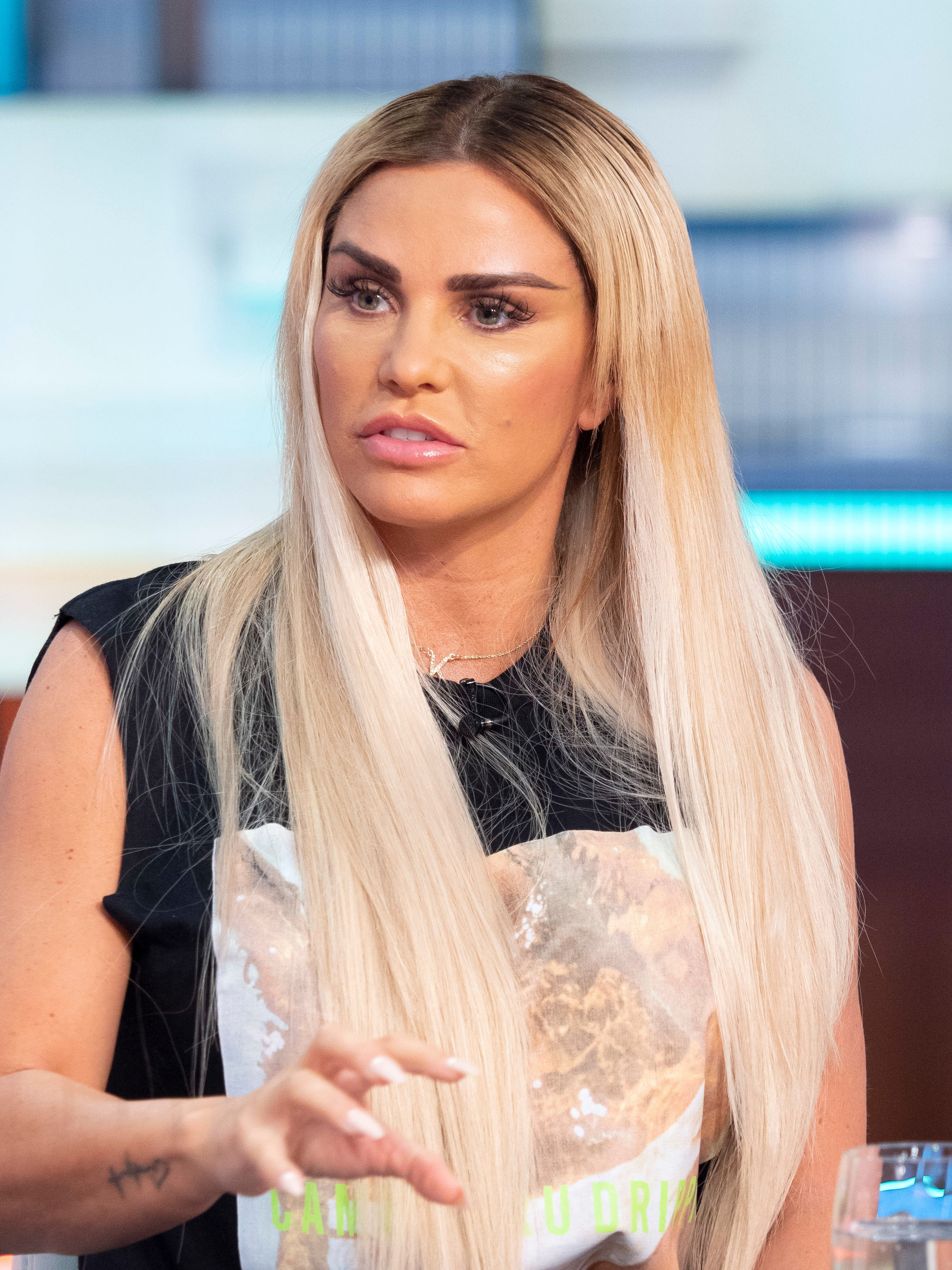 Katie Price's 'wonky' hairstyle slammed by trolls after she debuts dramatic long blonde 'do