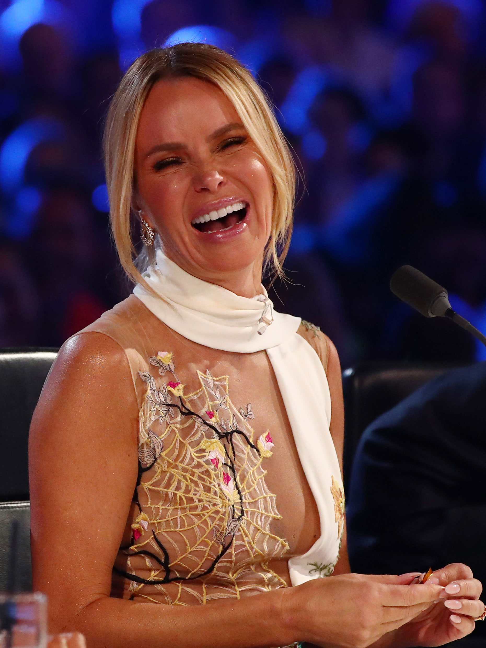 Amanda Holden Nude amanda holden delighted people are discussing her tired old