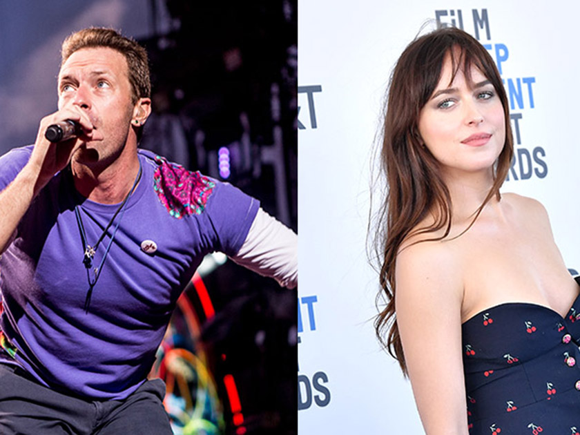 Chris Martin 'splits' from Fifty Shades of Grey star Dakota Johnson after 20 months of dating