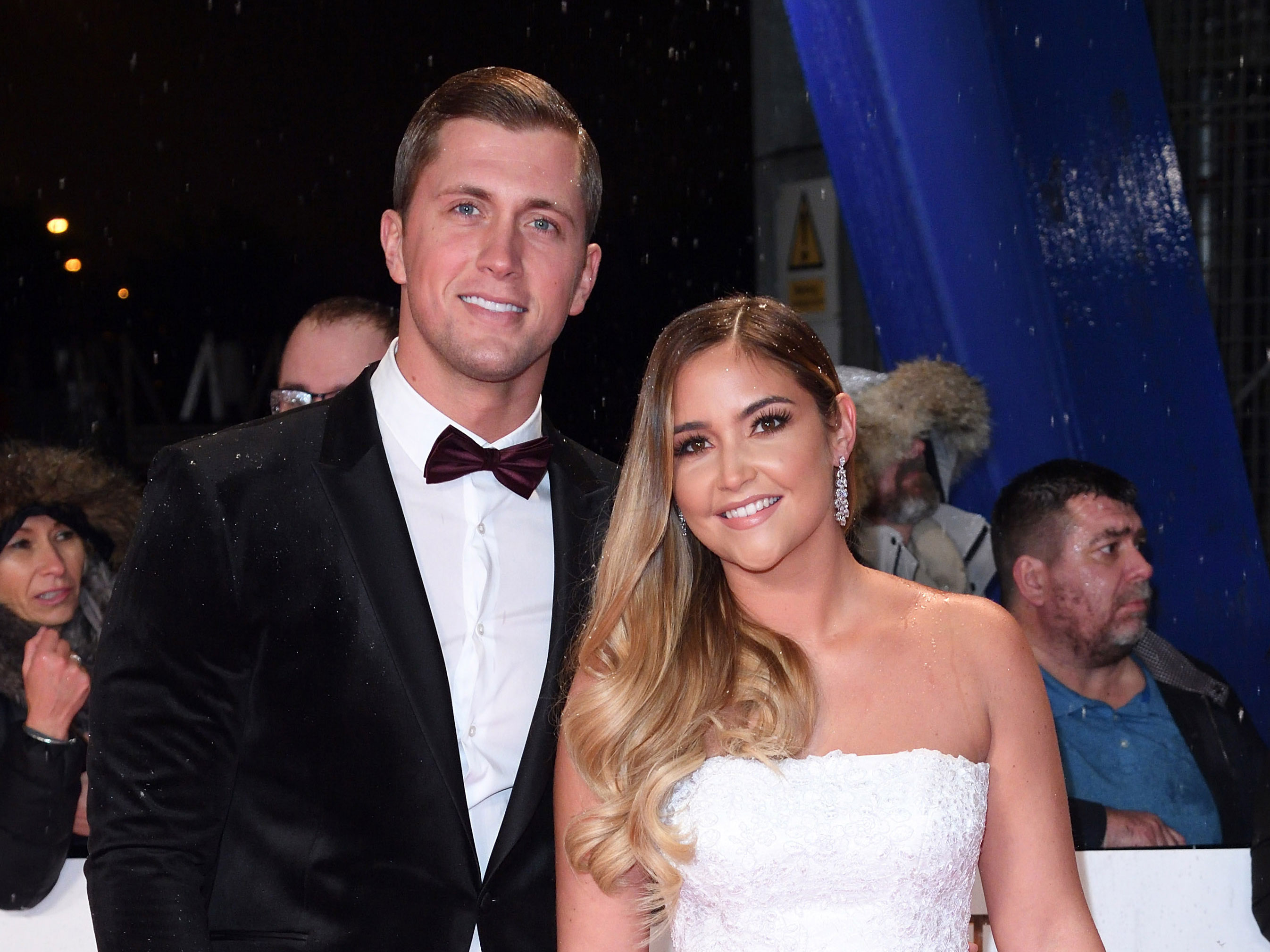 Jacqueline Jossa cosies up to husband Dan Osborne for romantic snap as they prove they've put marriage woes behind them