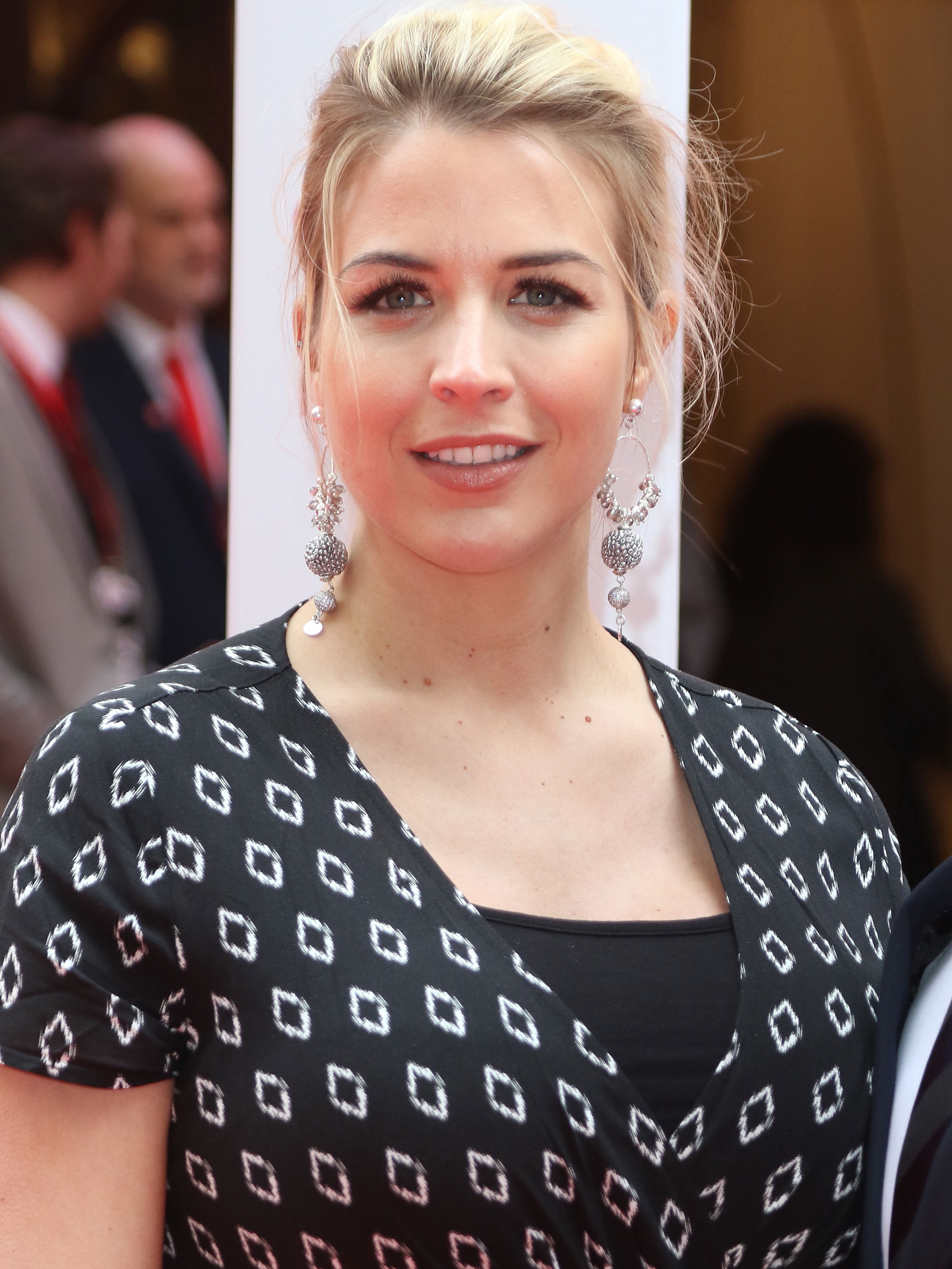 Gemma Atkinson shows off 15kg weight gain as she opens up about her pregnancy body