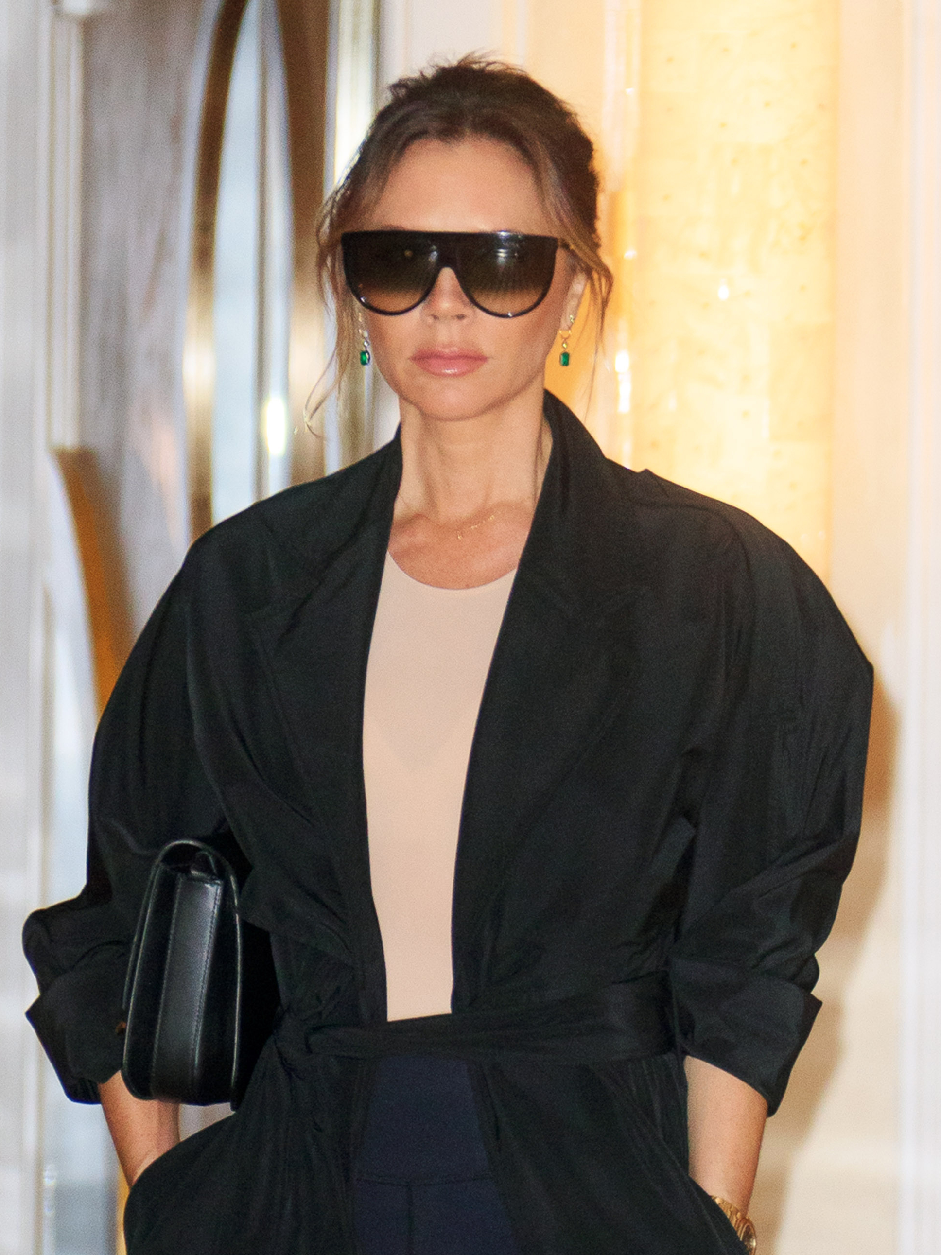 Victoria Beckham breaks protocol by wearing THIS dress to celebrity wedding