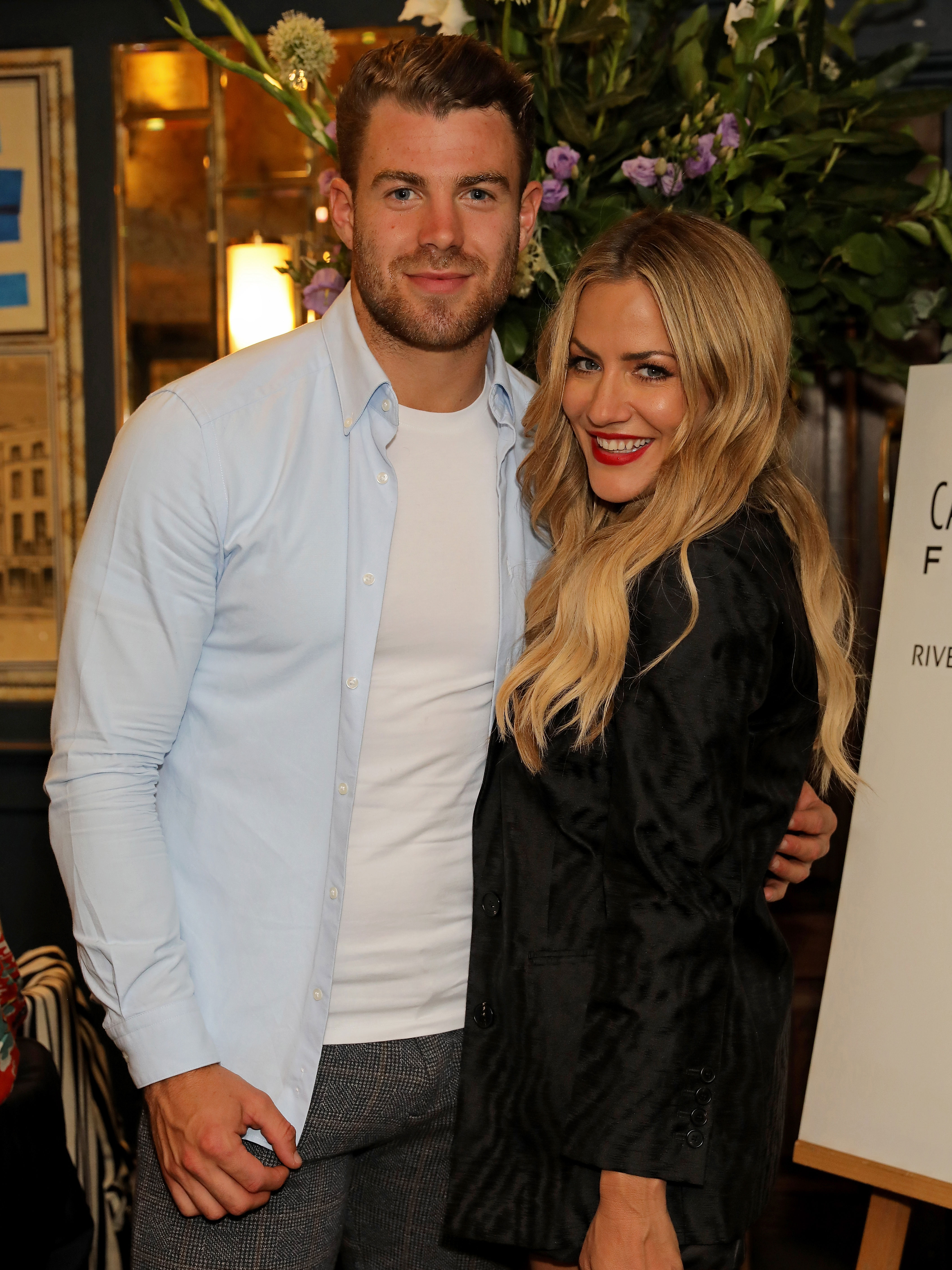 Awkward! Love Island's Molly-Mae was spotted cosying up to Caroline Flack's ex flame earlier this year 3