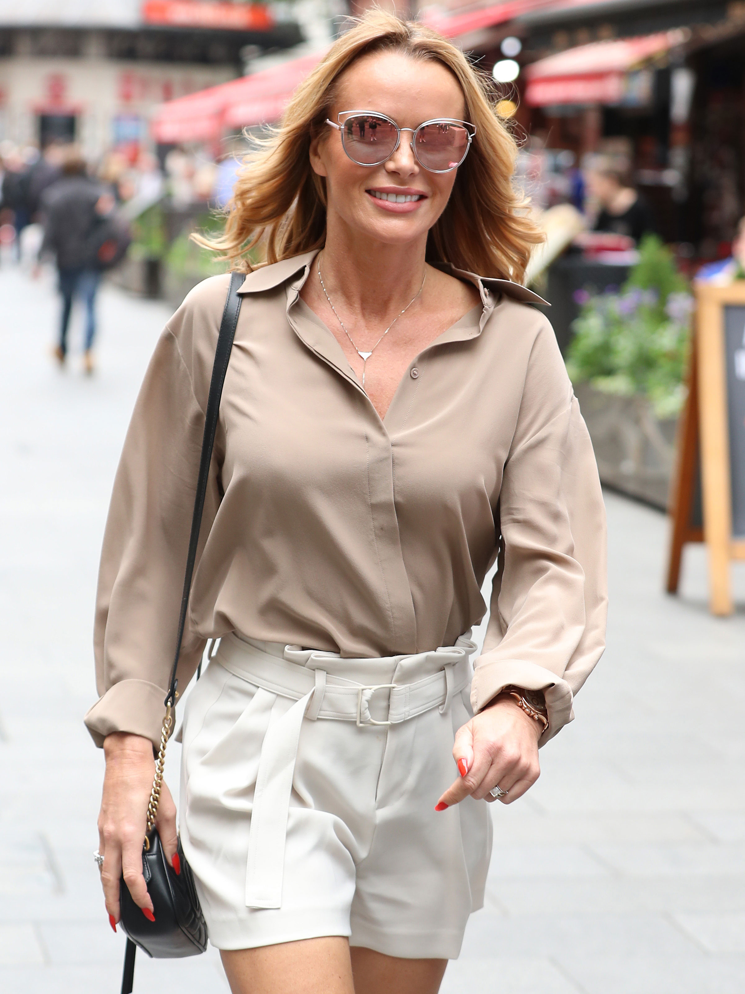 Here's where you can buy Amanda Holden's bargain leather mules