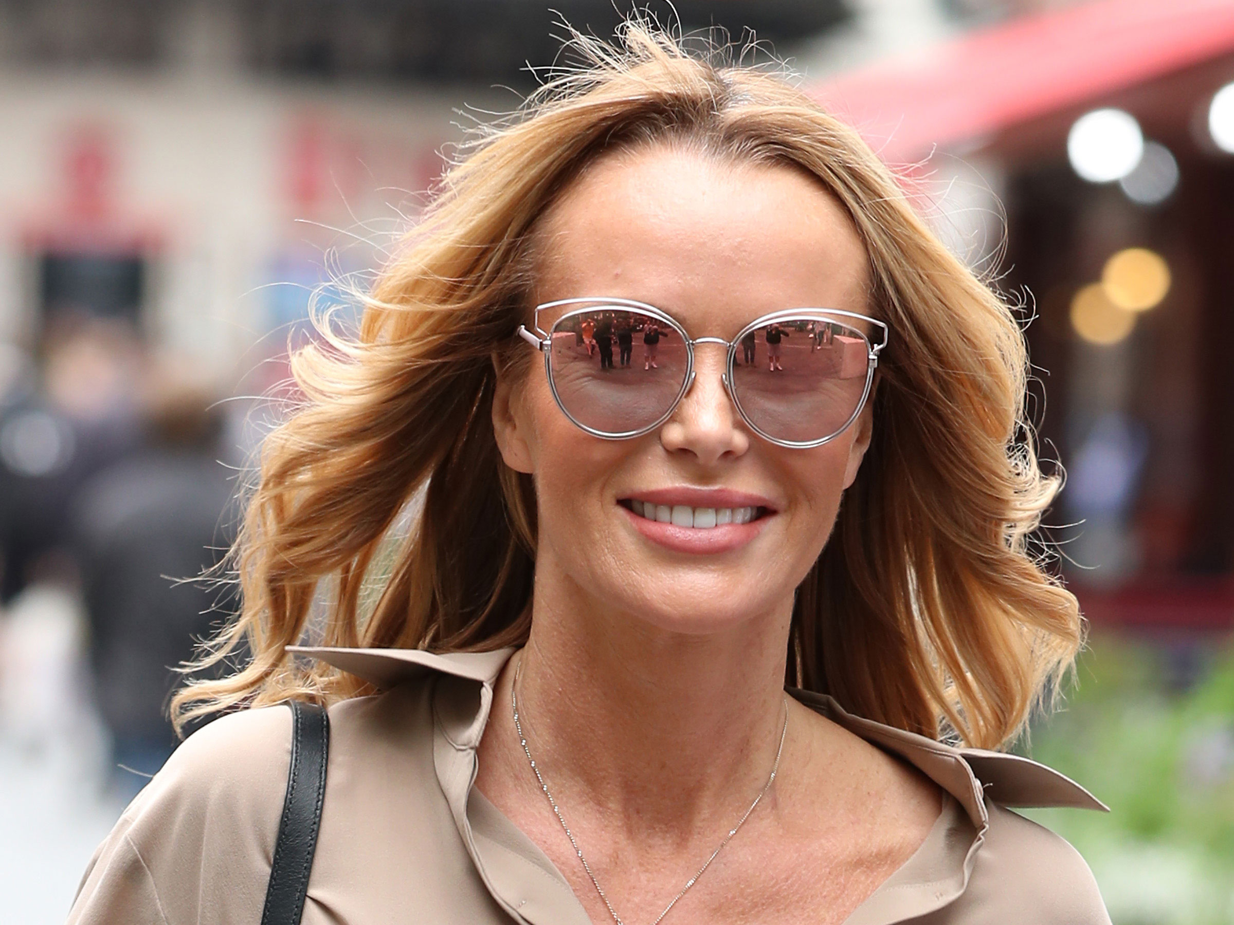 Here's where you can buy Amanda Holden's bargain leather mules that are PERFECT for summer