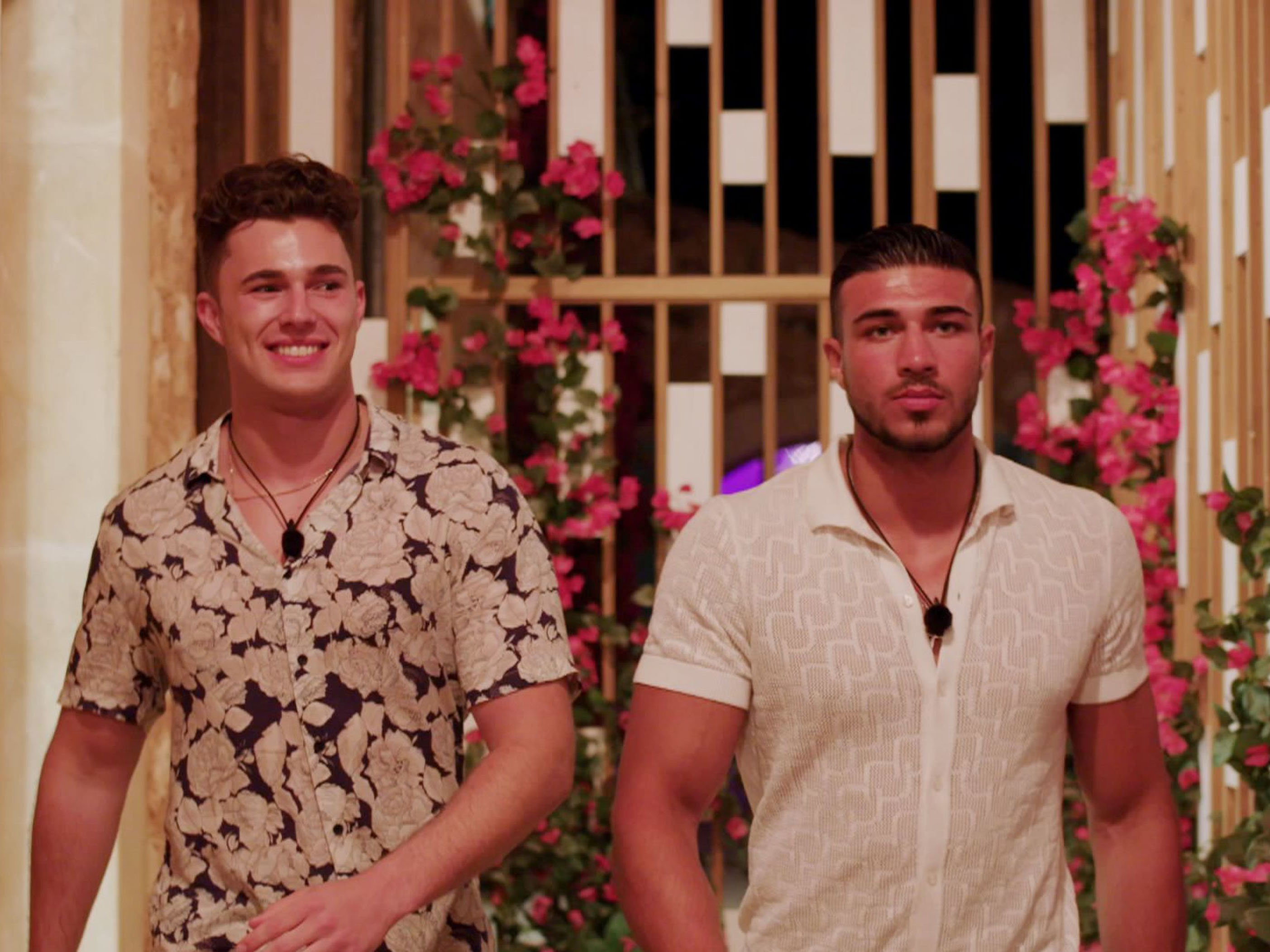 Tommy Fury and Curtis Pritchard