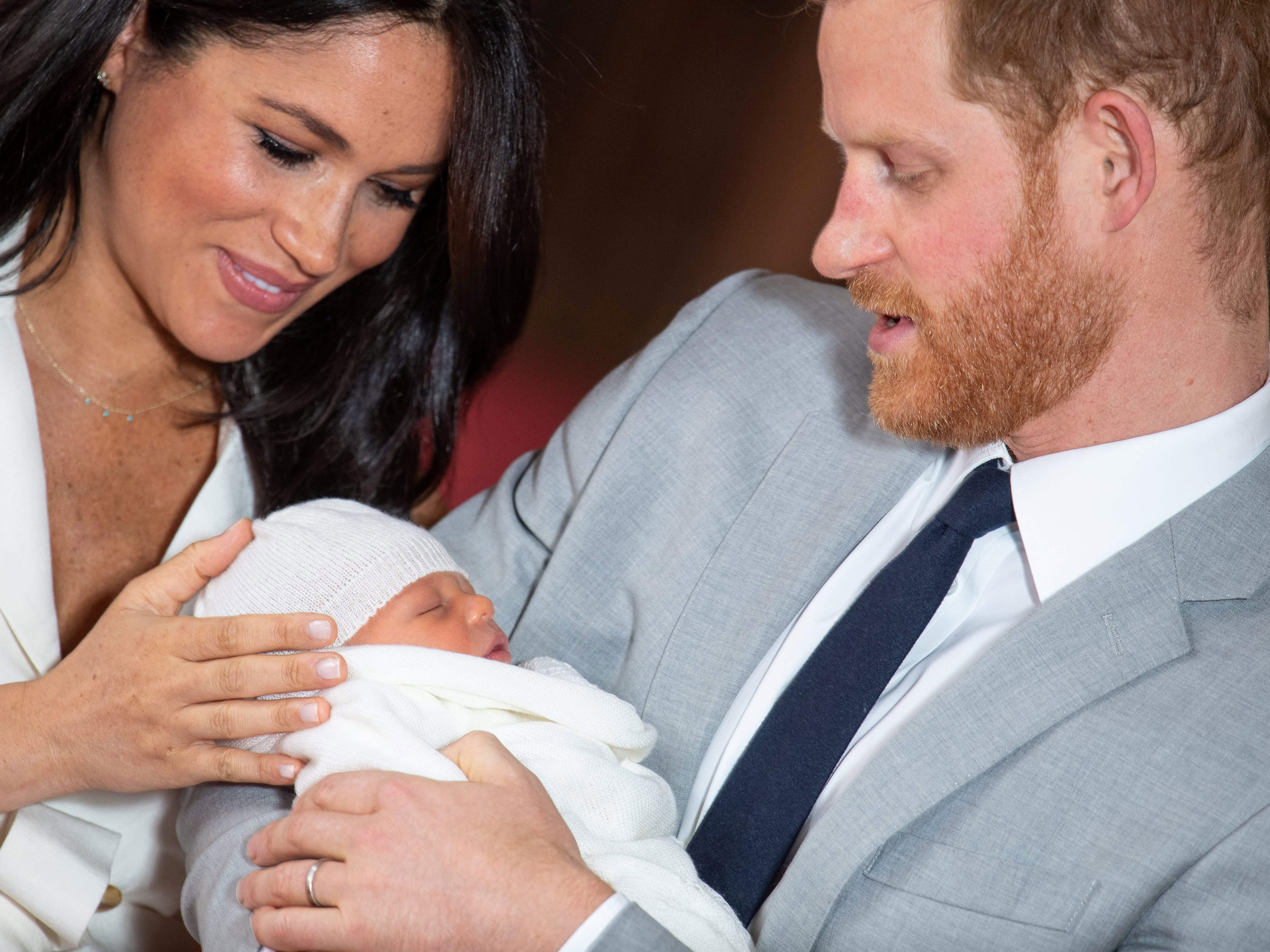 Meghan Markle 'wants to raise Archie as a vegan' but the Queen 'won't tolerate it'
