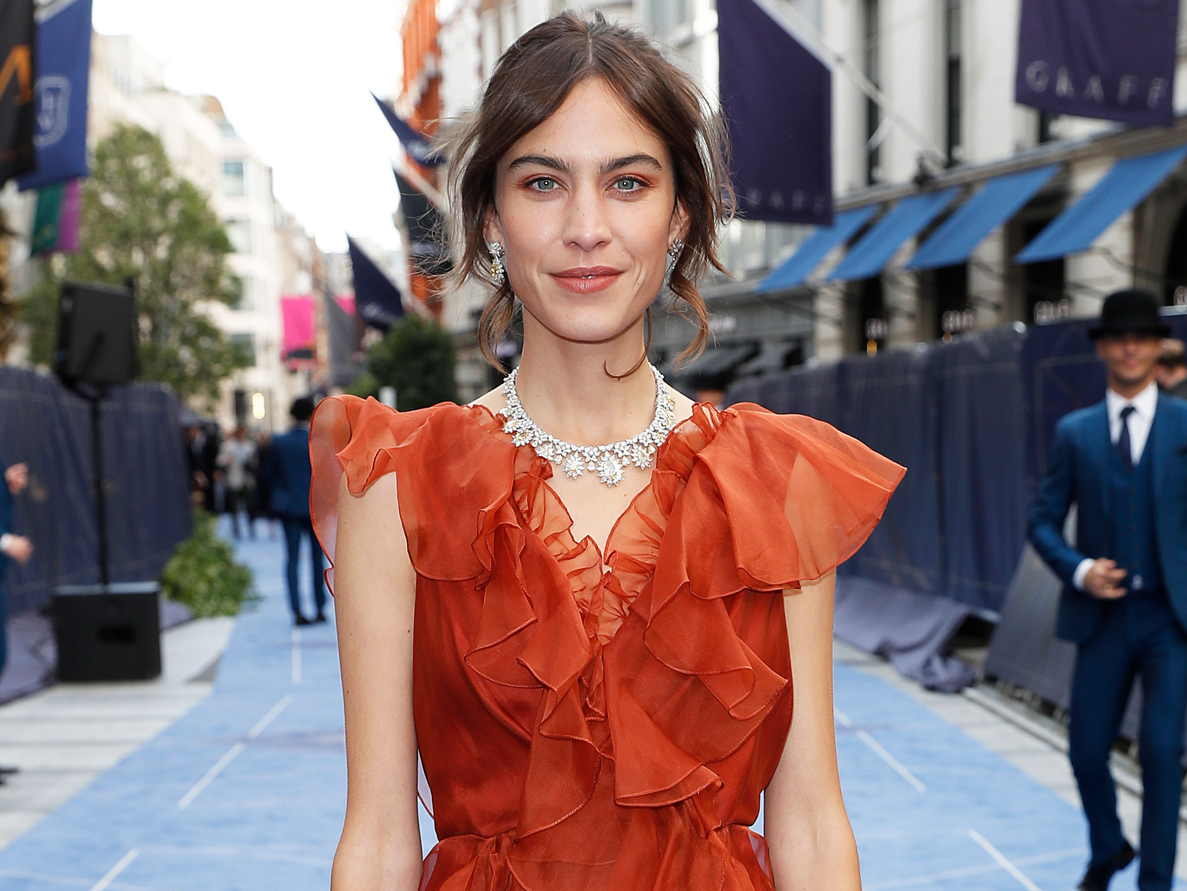 Alexa Chung praised as she opens up about 'unbearably painful' health condition