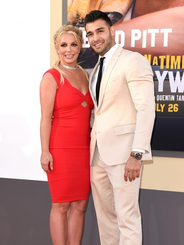 Britney Spears and Sam Asghari spark engagement rumours during rare red carpet appearance in LA