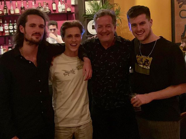 Piers Morgan's hunky sons have been asked to go on Love Island but he'd 'cut them out the will' if they went into the villa 3