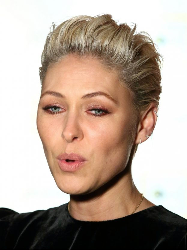 Emma Willis debuts dramatic beach blonde extensions – and she looks AMAZING