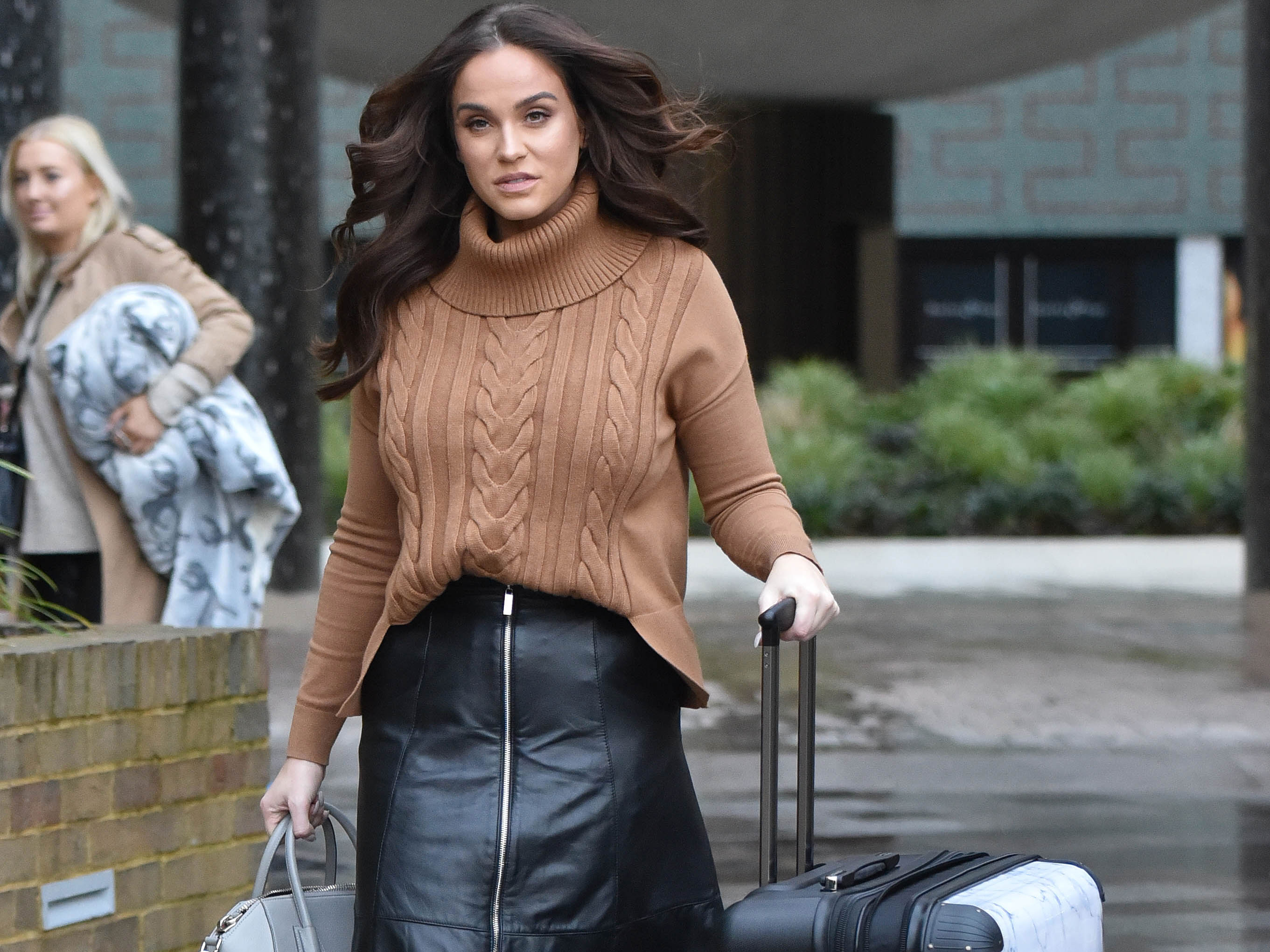 Vicky Pattison bares all in her underwear as she admits her weight gain is impacting her confidence