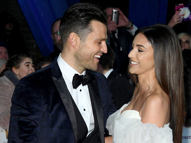 Michelle Keegan and husband Mark Wright argue live on air