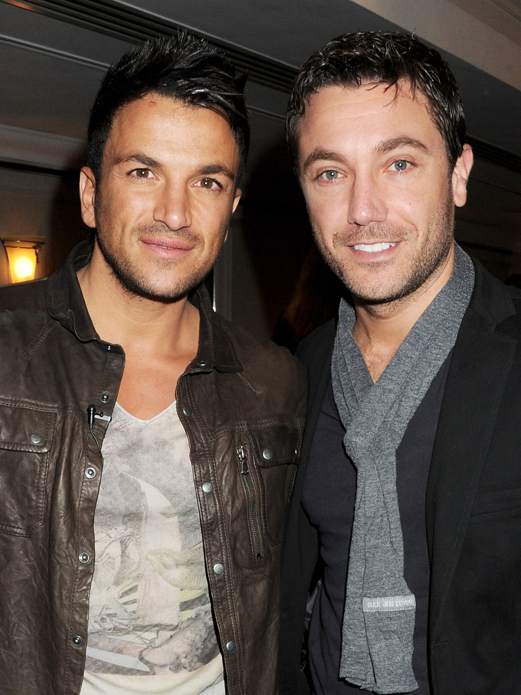 Peter Andre has started a hilarious feud with Gino D'Acampo