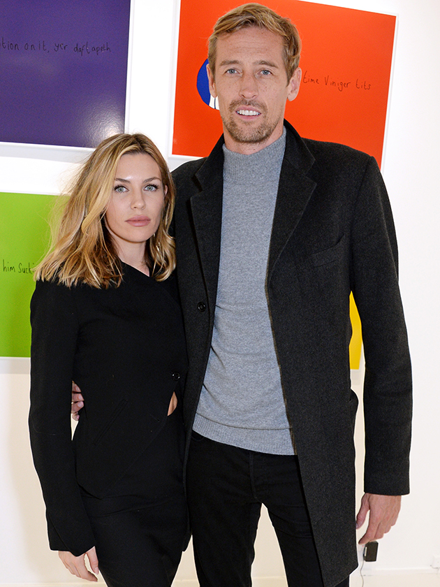Peter Crouch reveals he and wife Abbey Clancy were almost killed in accident