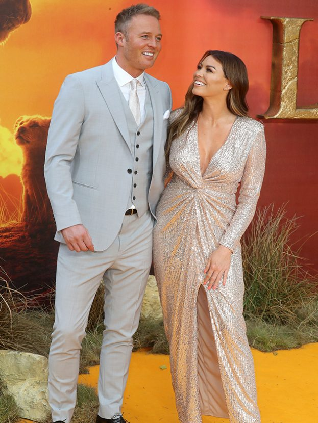 jess wright discusses mark wright michelle keegan kids