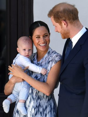 prince harry special reason baby archie africa royal tour