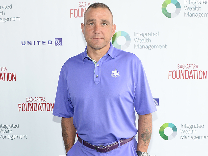 Vinnie Jones breaks viewers hearts with first TV interview after his wife's death