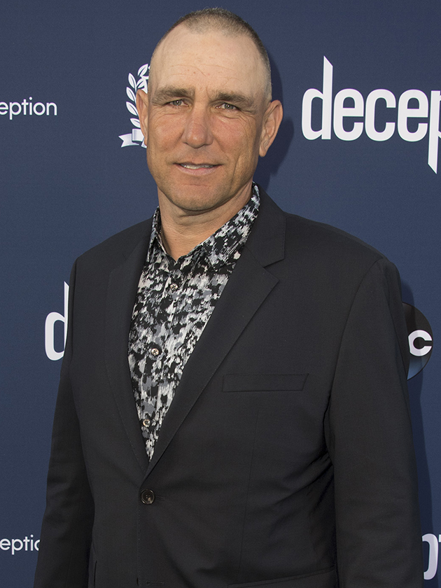 Vinnie Jones breaks viewers hearts with first TV interview after wife's death