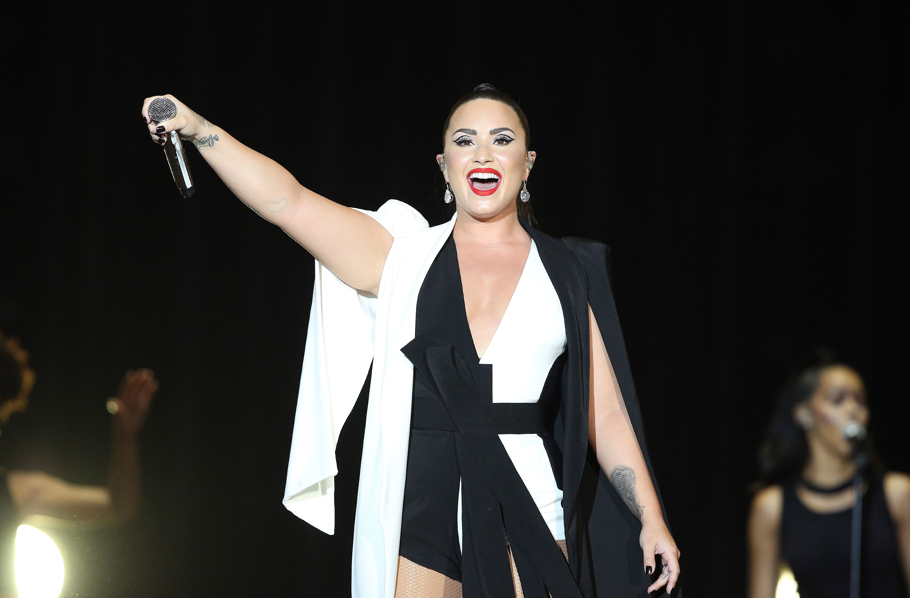 Demi Lovato opens up about heartbreaking loss as she declares 'addiction is no joke'
