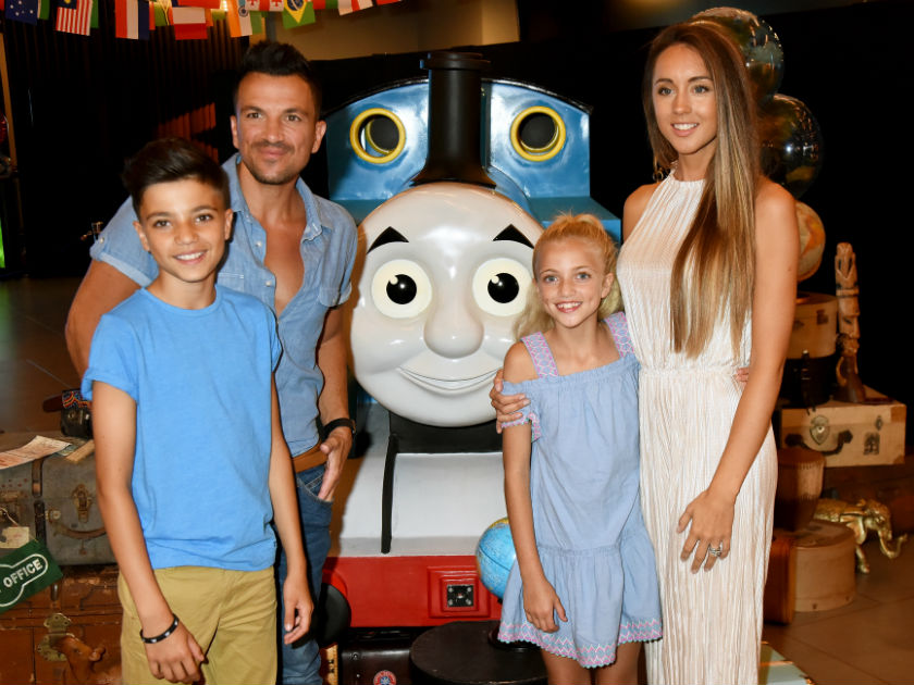 'No dad that's not funny!' Peter Andre pranks daughter Princess in the best way