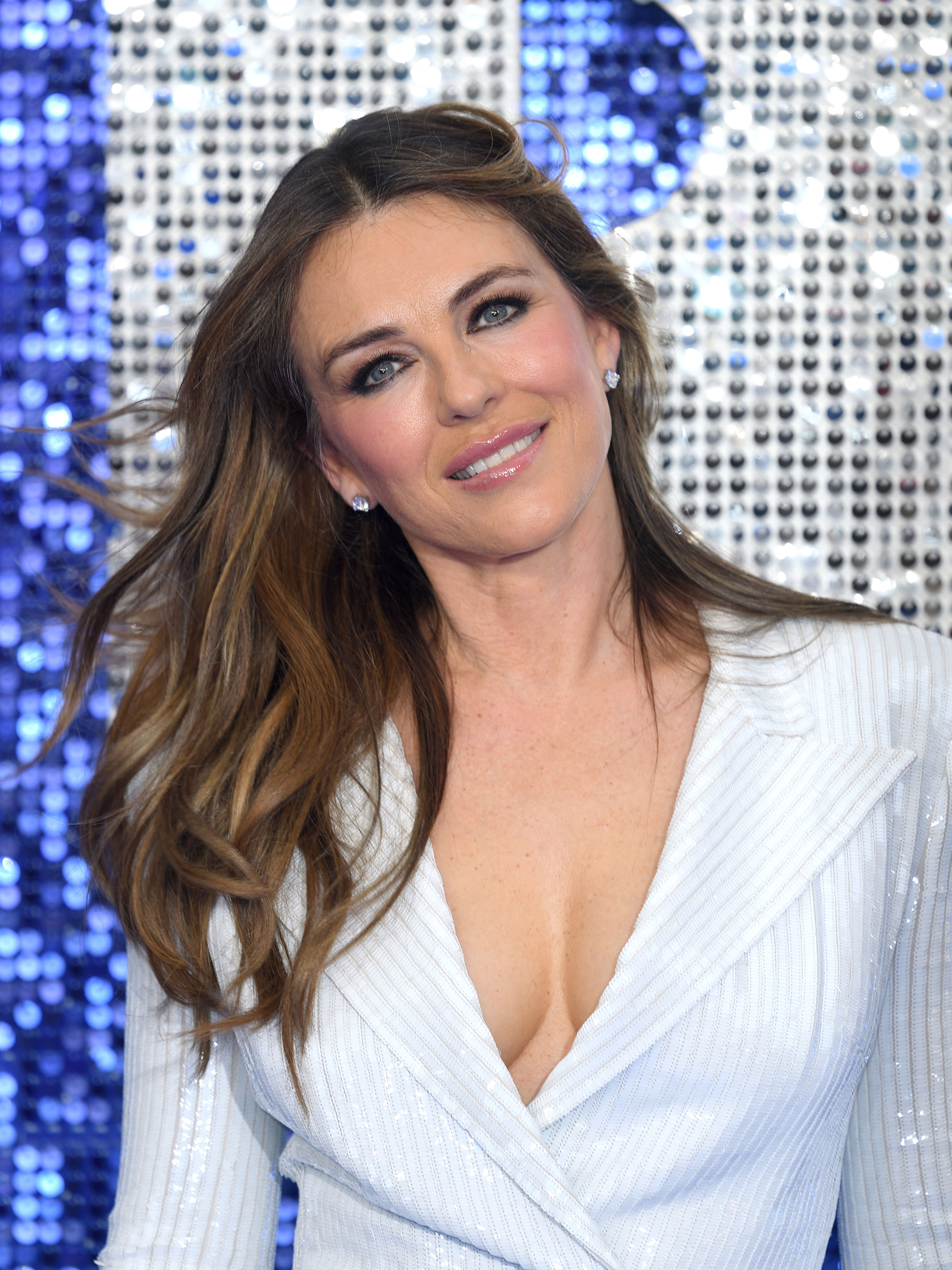 Liz Hurley stuns fans as she wears sexy nurse outfit for Halloween