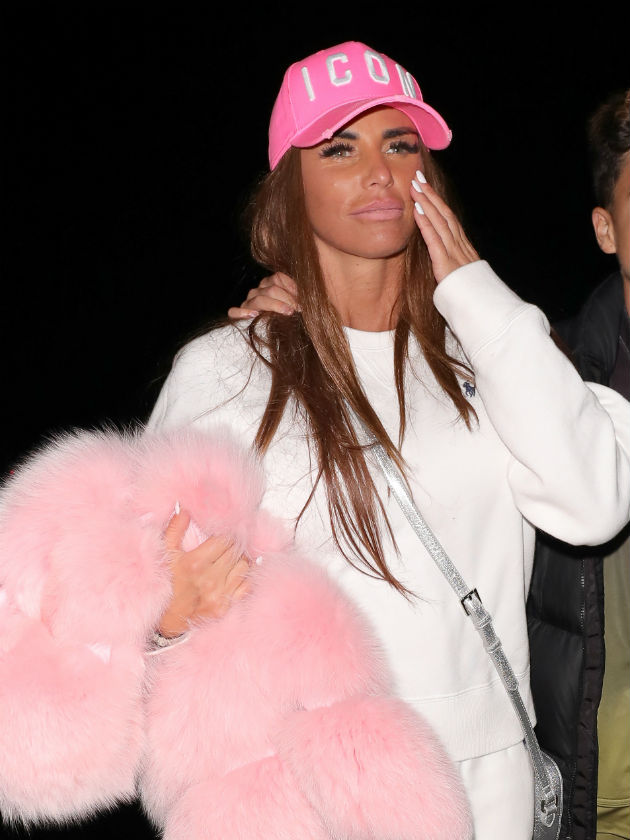 Katie Price has 'lost feeling in her face' after too many face lifts in Turkey