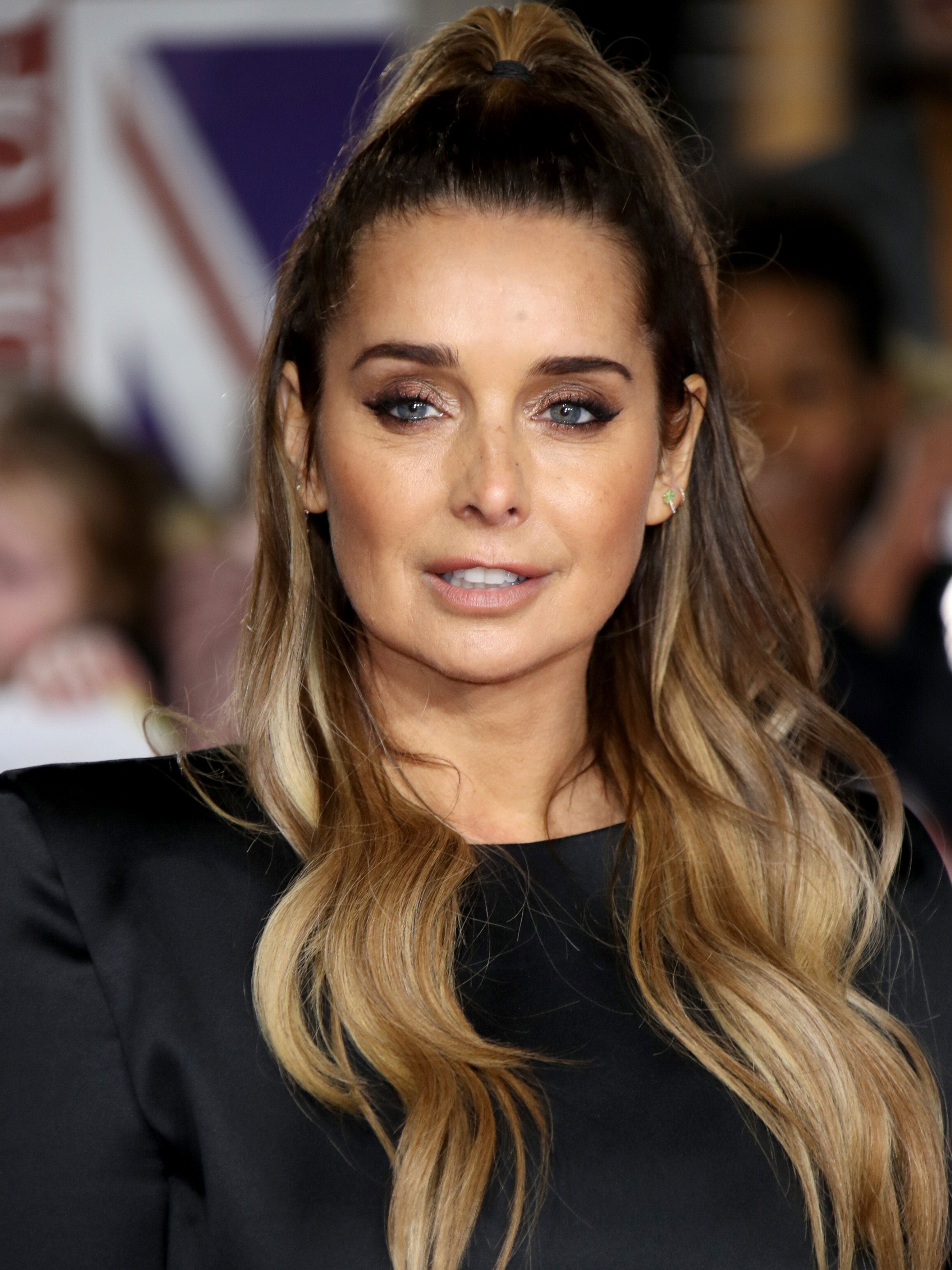Louise Redknapp stuns in tight dress after opening up about divorce