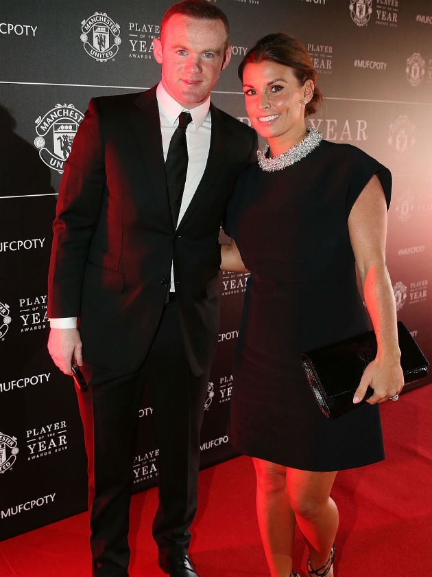Coleen Rooney pictured with hubby Wayne for first time in THREE months
